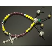 bracelet tibetain avec croix