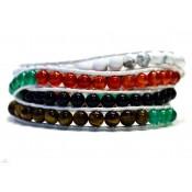 bracelet wrap multicolores