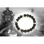 Bracelet tibétain onyx