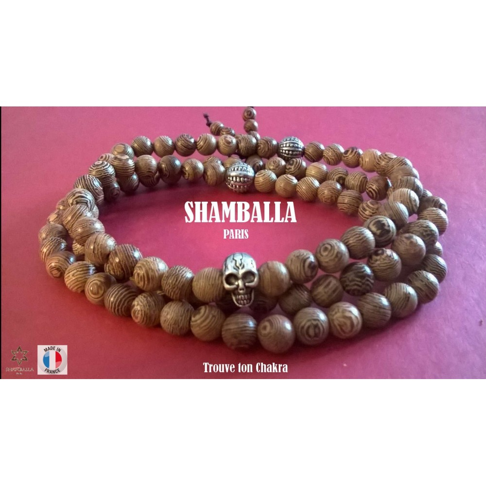 shamballa paris le bracelet perles bois 345. Black Bedroom Furniture Sets. Home Design Ideas