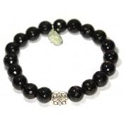 un bracelet bouddhiste onyx