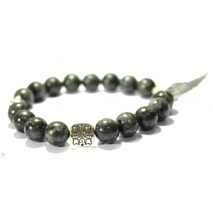 bracelet en perles de Labradorite