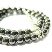 bracelet bouddhiste hematite