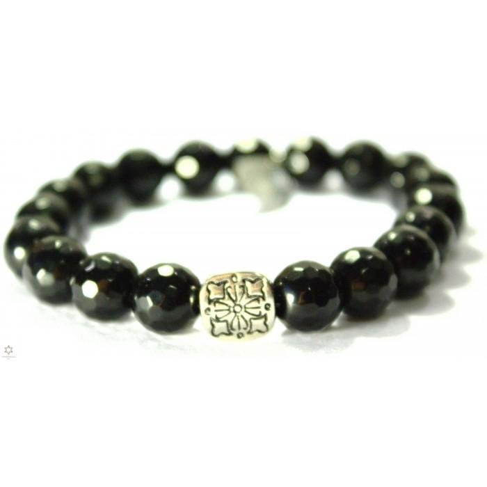 bracelet en onyx