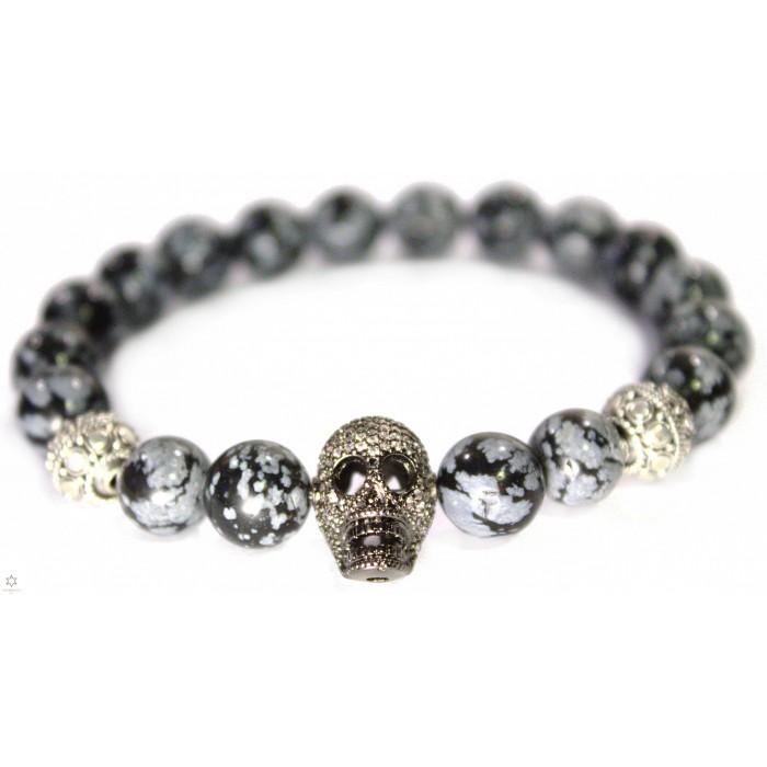 Le bracelet Obsidienne SQ