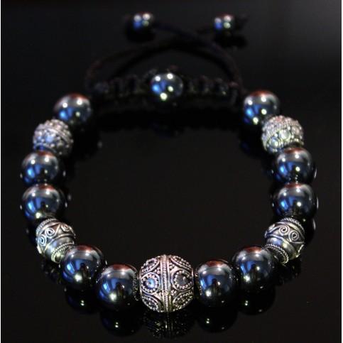 Le bracelet hématite luxe