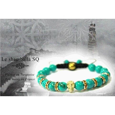 Le shamballa turquoise SQ