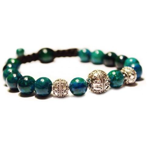 Azurite bracelet SQ