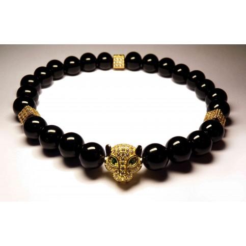 Le bracelet félin or