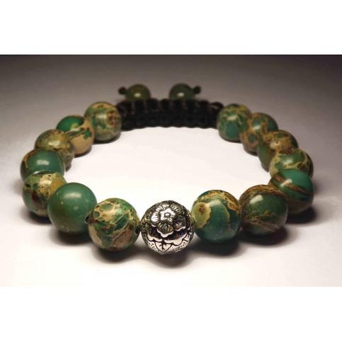 Le bracelet vert aqua tera SQ