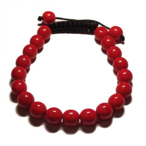 Red coral bracelet SQ