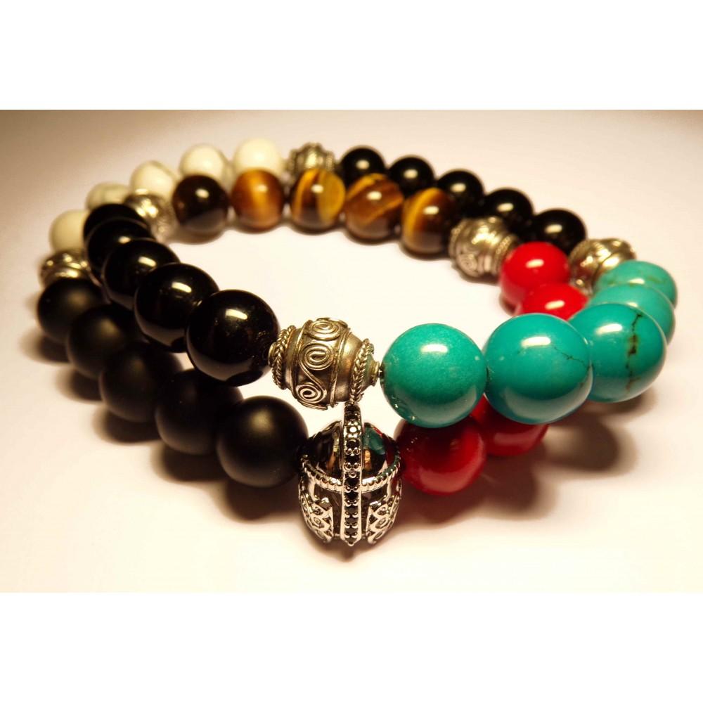 le bracelet jay z luxe sq perles sur lastique homme et. Black Bedroom Furniture Sets. Home Design Ideas