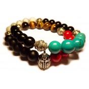 bracelet tibetain double pour homme