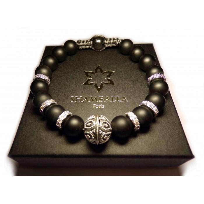 le shamballa luxe perles sur cordon homme et femme 405. Black Bedroom Furniture Sets. Home Design Ideas