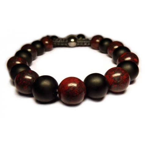 Le bracelet Jaspe Poppy