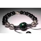 Le bracelet shamballa Malachite