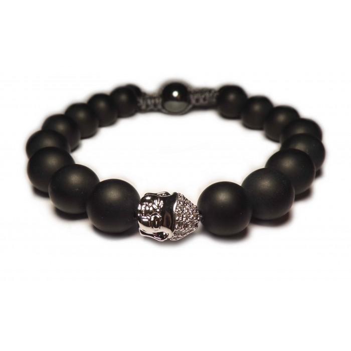 Bracelet en argent bouddha bijoux populaires - Comment nettoyer un bijou en argent ...