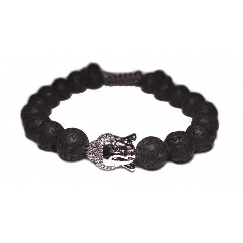 shamballa bracelet pierre noir