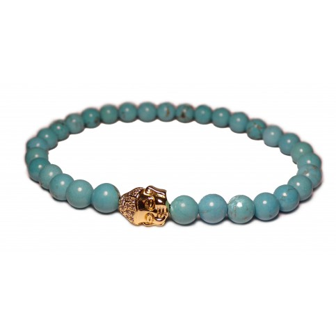 Le bracelet Bouddha or