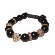 bracelet chat or rose