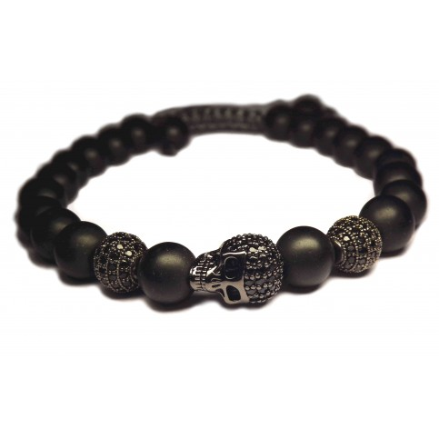 Le bracelet tete de mort