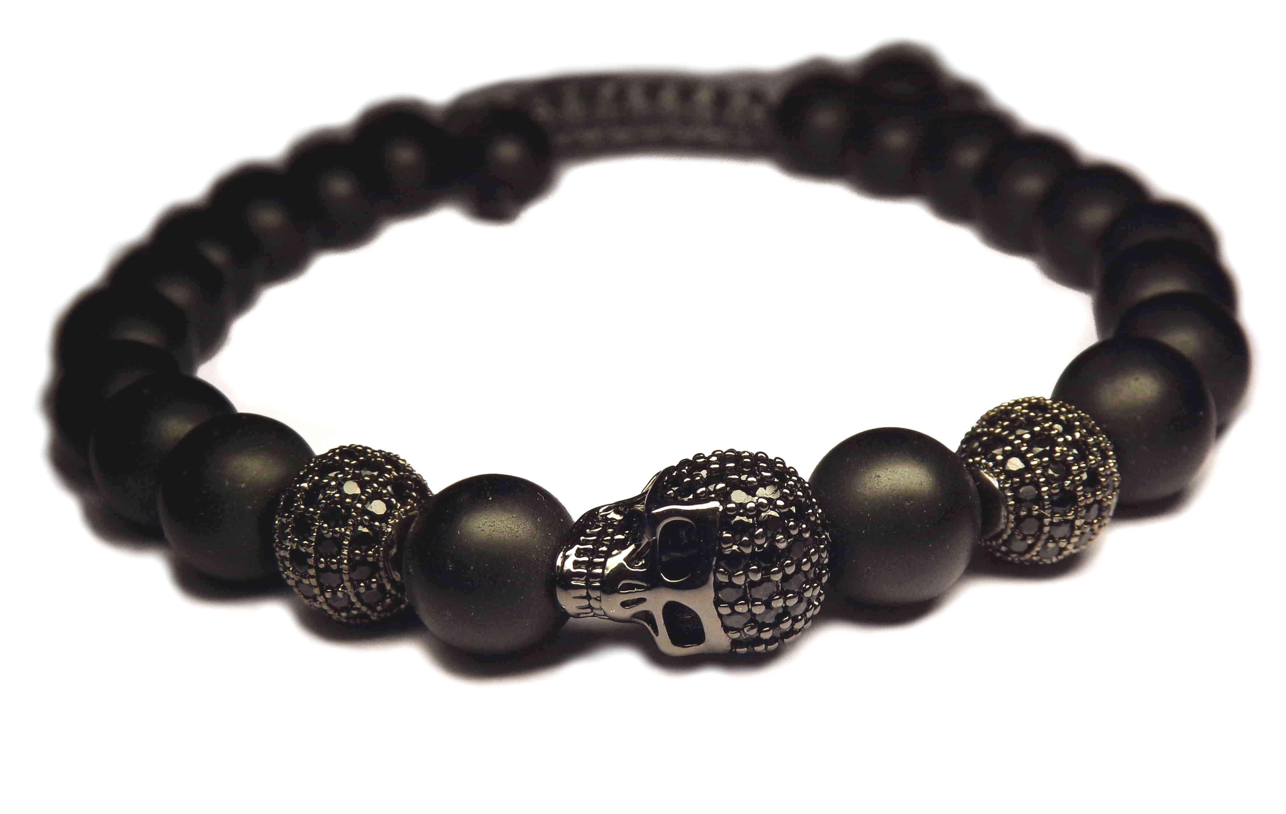 achetez le vrai le bracelet tete de mort prix de vente 99 00. Black Bedroom Furniture Sets. Home Design Ideas