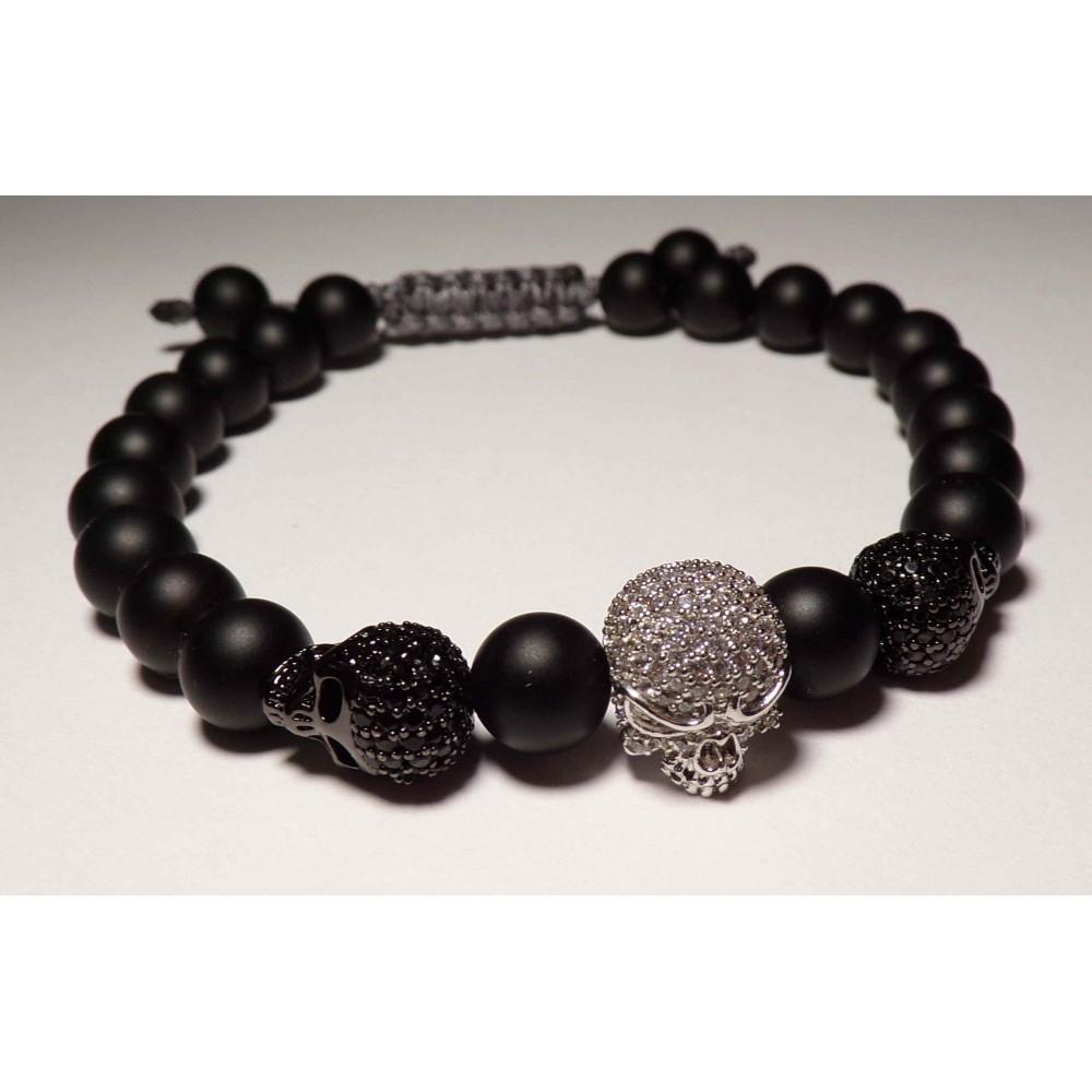 le bracelet perles rock perles sur cordon homme et femme 19. Black Bedroom Furniture Sets. Home Design Ideas