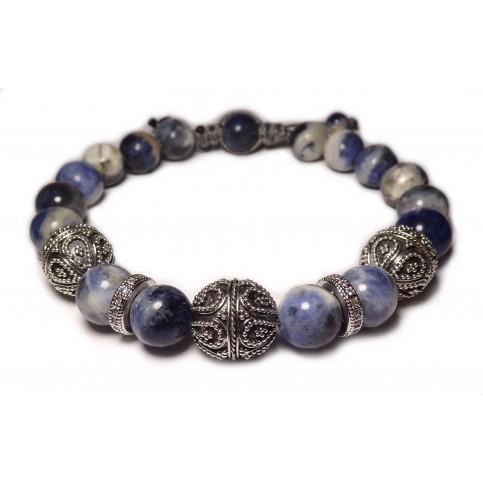 Le bracelet sodalite luxe