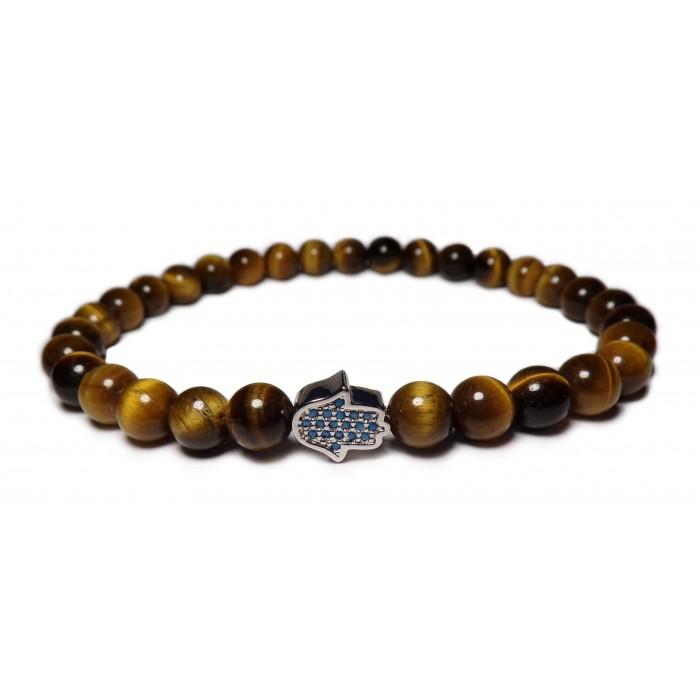 bracelet main de Fatma argent