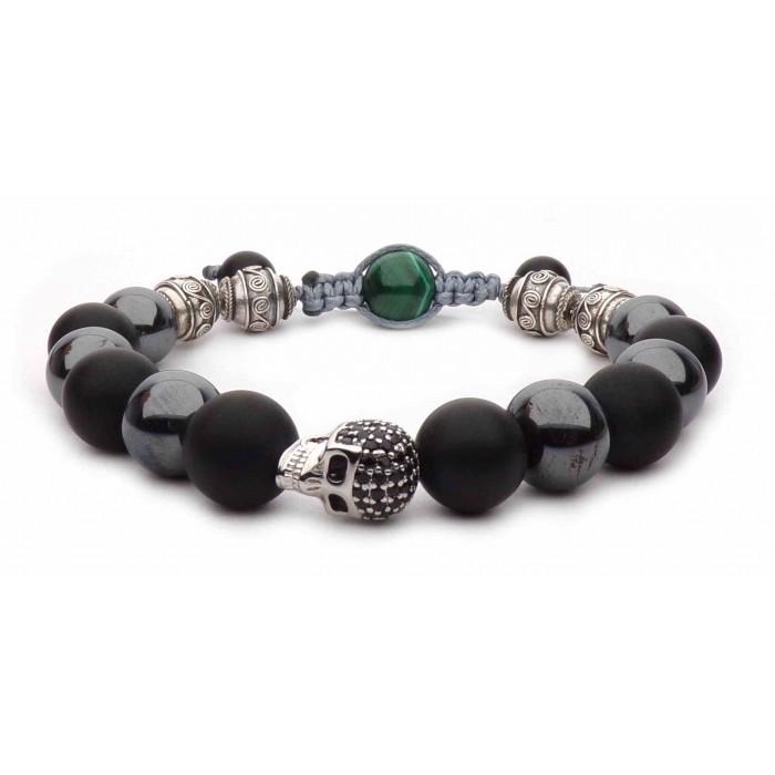 Le bracelet tete de mort luxe