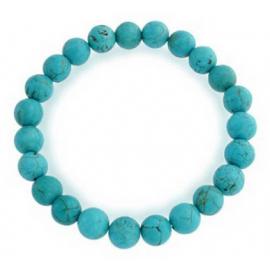 Bracelet mala perles Turquoise