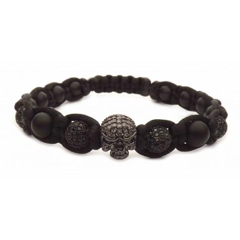 Le bracelet rock noir