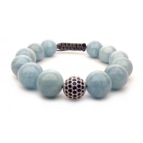 Le bracelet Aigue marine