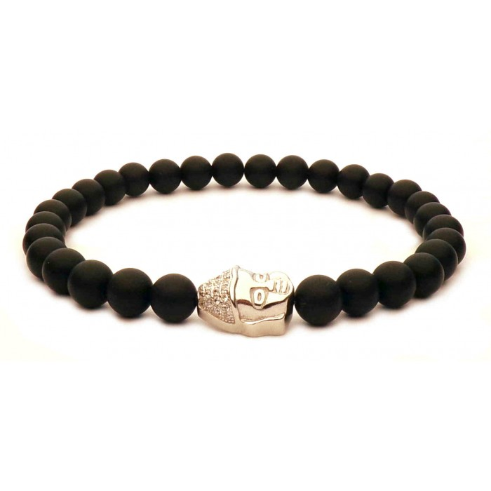 bracelet petit bouddha en argent
