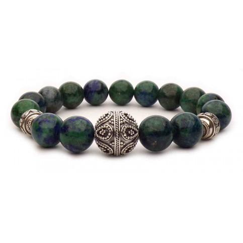 bracelet perles en Azurite