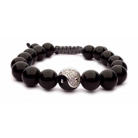 bracelet Yin Yang en argent