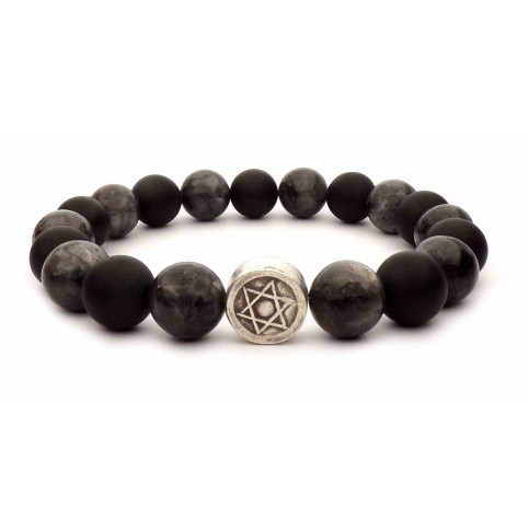 bracelet étoile de david