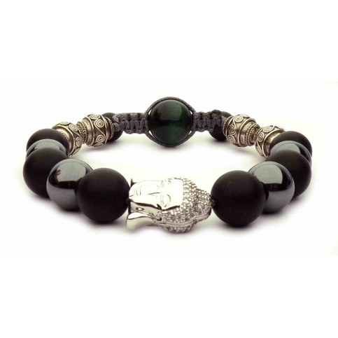 Le bracelet Bouddha Malachite