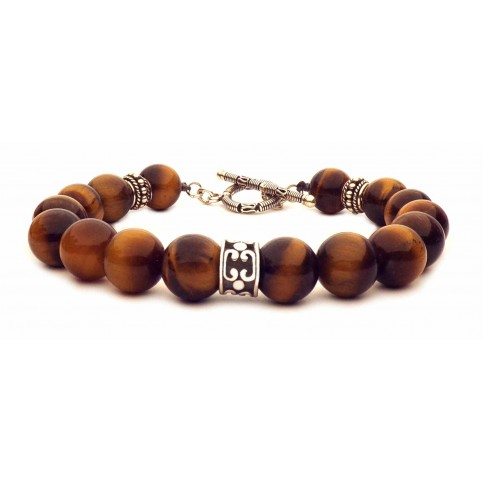 Le bracelet esprit Bali fermoir en T