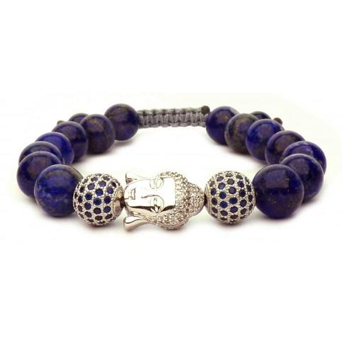 Le bracelet Bouddha Lapis lazuli