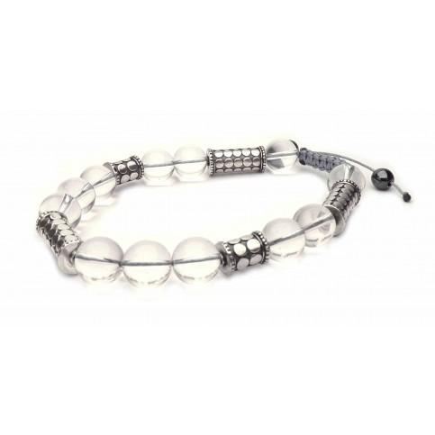 Le bracelet shamballa cristal de roche