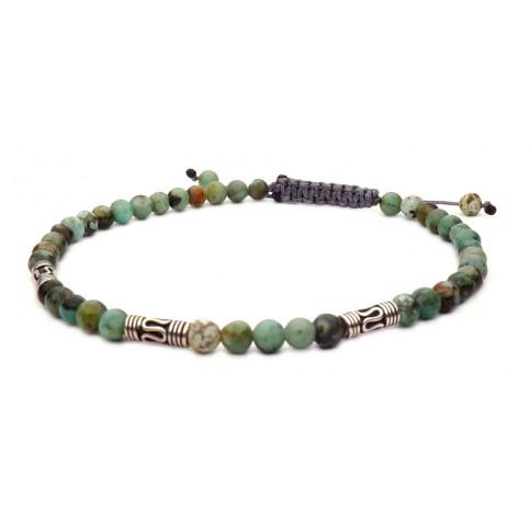 bracelet shamballa agate africaine