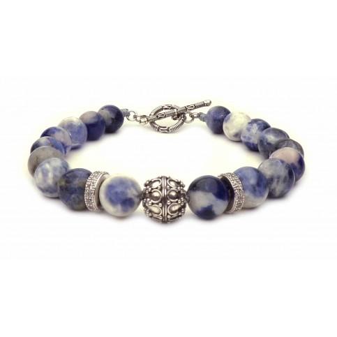 Le bracelet esprit Bali Sodalite