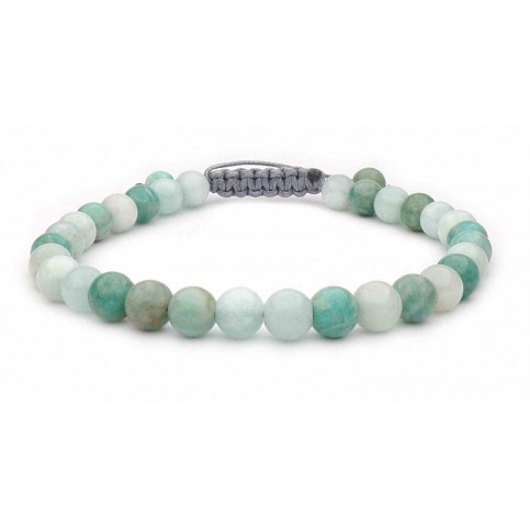 bracelet shamballa amazonite