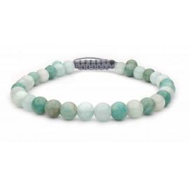 Le bracelet perles Amazonite