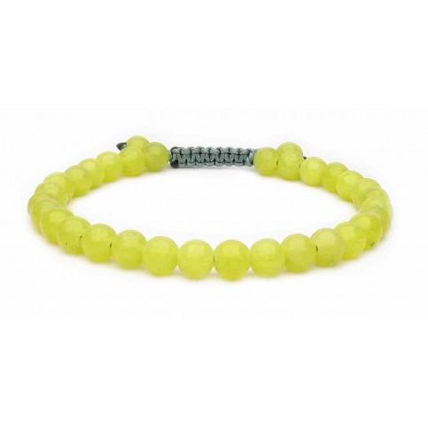 bracelet shamballal Péridot