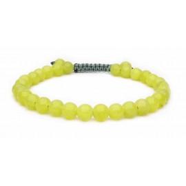 Le bracelet perles en Péridot