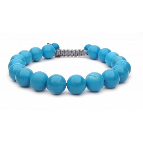 Le bracelet perles en Turquoise