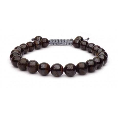 Le bracelet perles pierre Tigre de fer