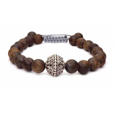 Le bracelet Bronzite argent